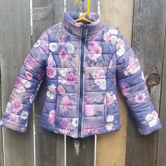 Size 6 Mirtillo Italian made puffer coat